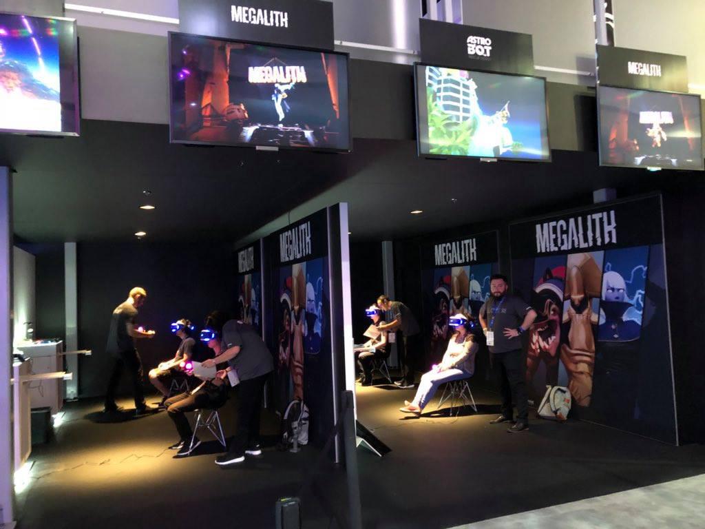 Megalith démo lors de l'E3