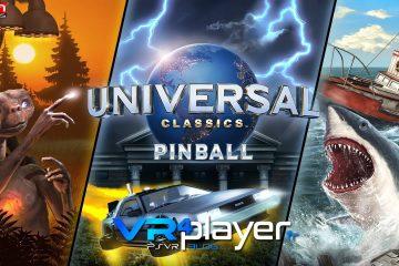 PlayStation VR : Pinball FX2 VR sort son DLC Universal Classics