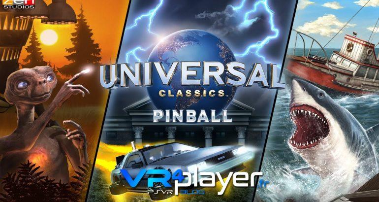 Pinball FX2 VR Universal Classics Pinball PSVR vr4player.fr