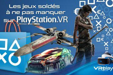 PlayStation VR : les soldes PSVR à moins de 15 euros