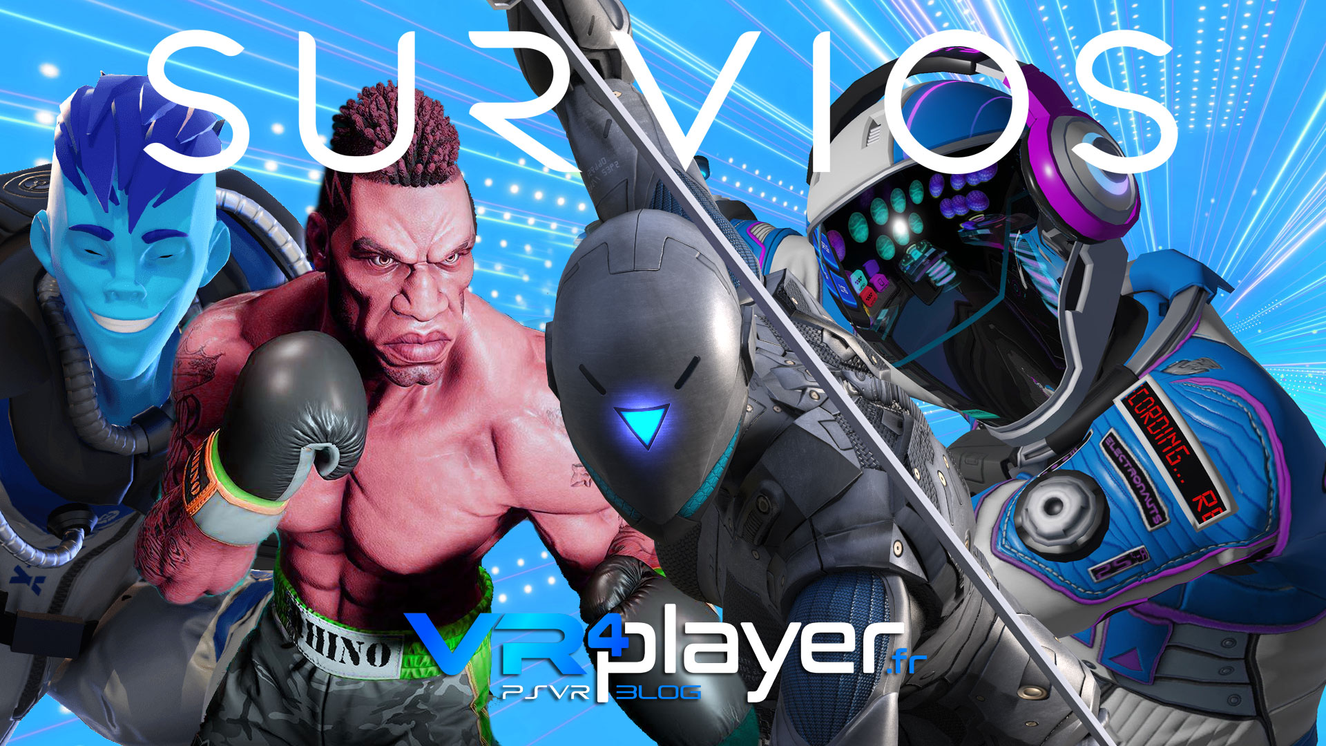Survios avec Creed Rise to Glory à l'E3 vr4player.fr