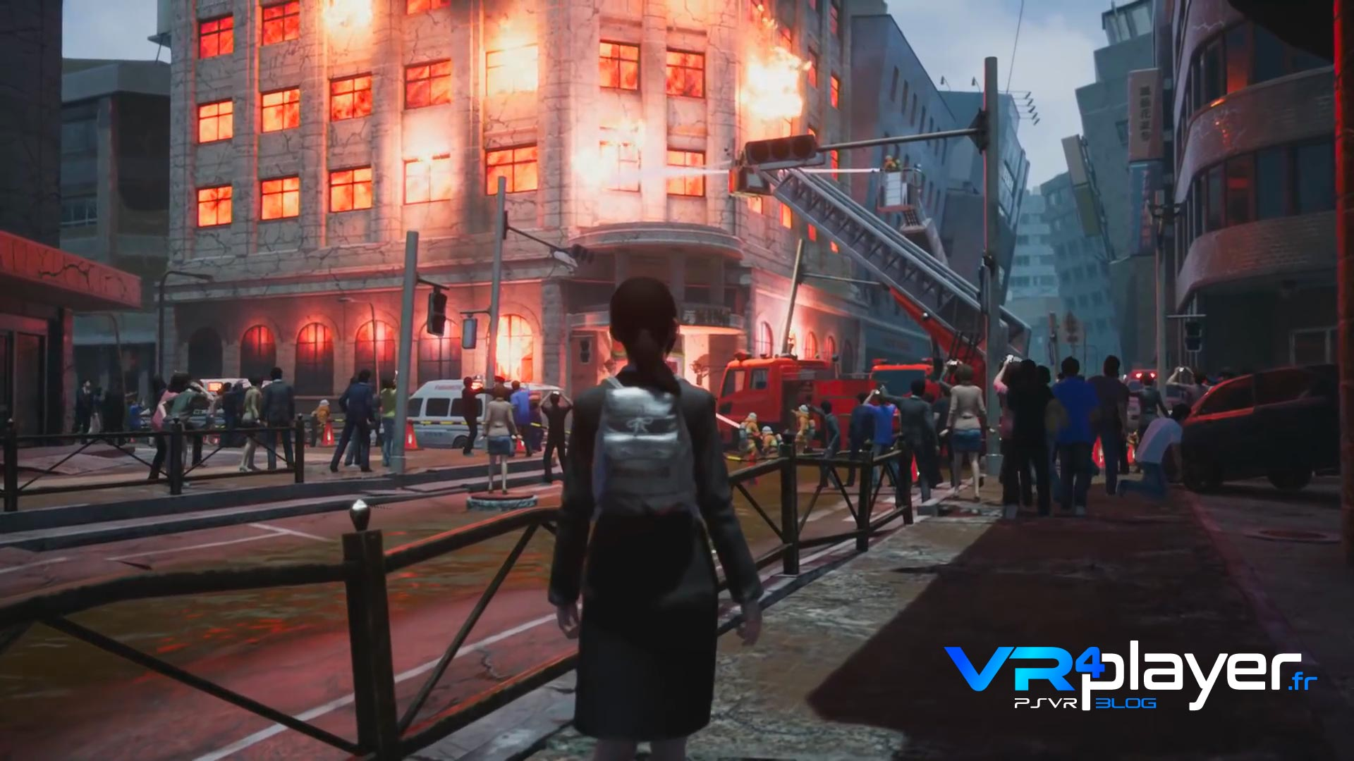 Disaster Report 4 Plus : Summer memories sur PlayStation VR psvr