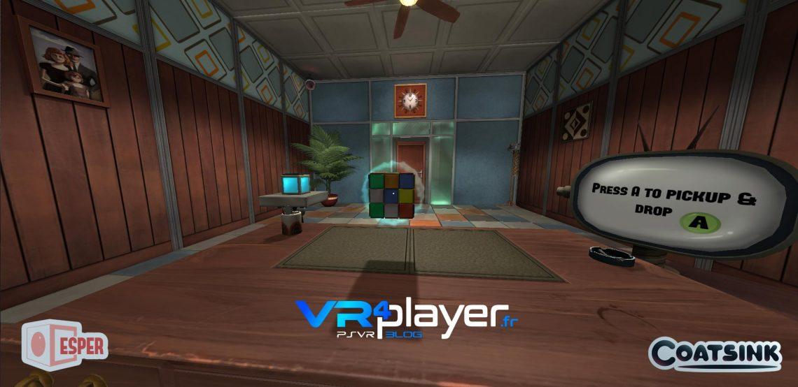 ESPER VR sur PSVR