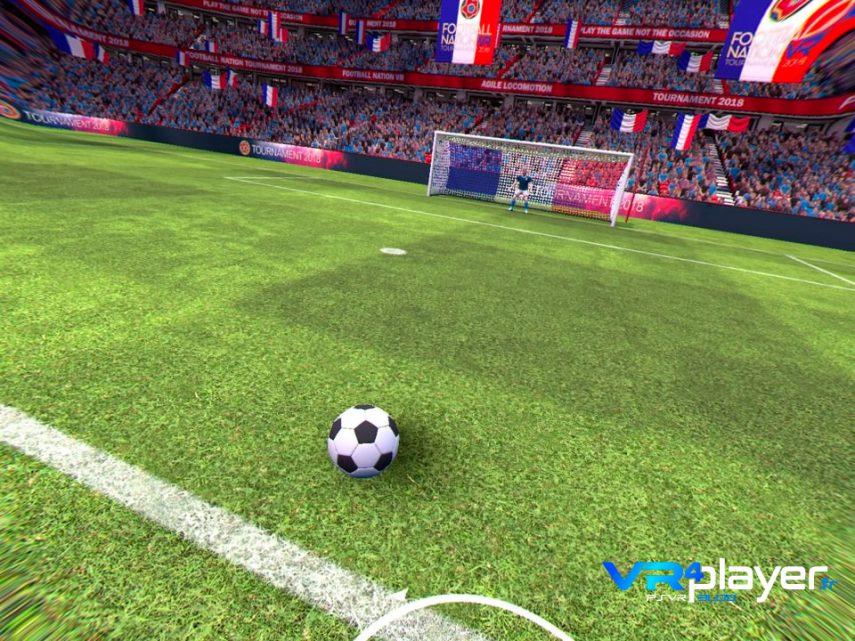 Football Nation VR sur PSVR