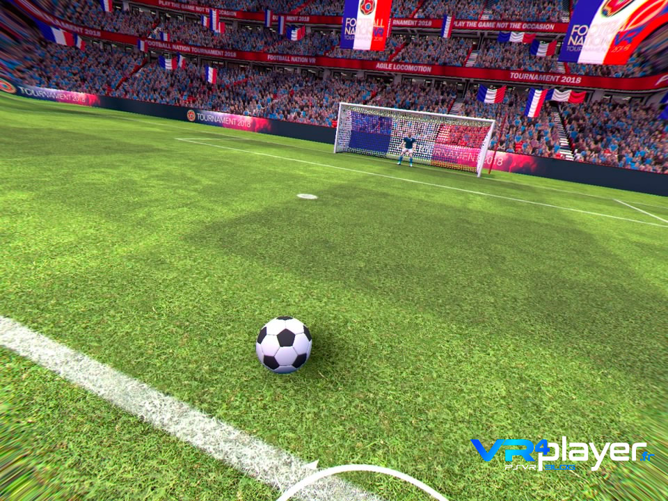 Football Nation VR sur PSVR