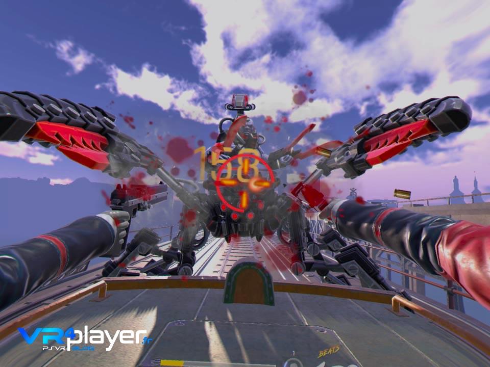 Gungrave VR Test PSVR