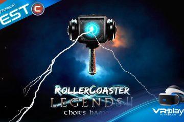 PlayStation VR : Rollercoaster Legends 2, le marteau de Test qui tue