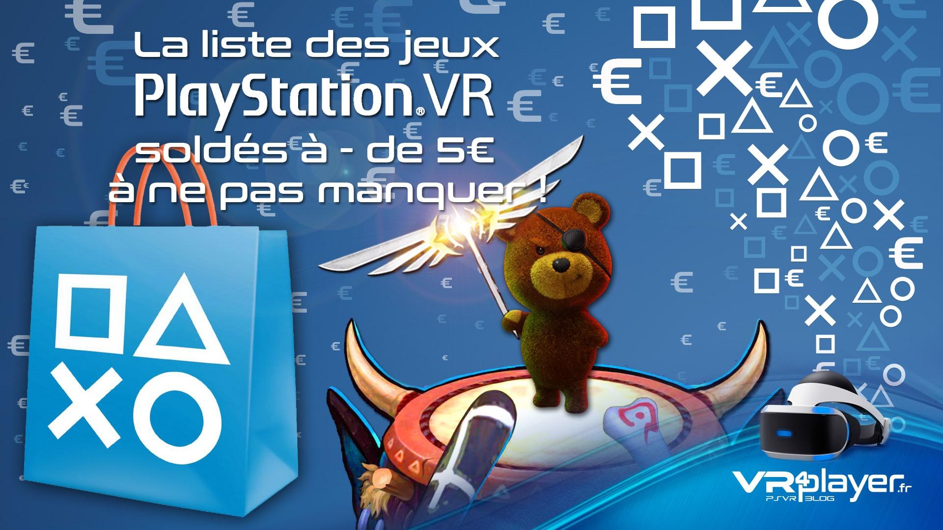 Promos PSVR à moins de 5 euros vr4player.fr