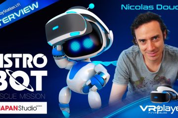 PlayStation VR : Interview Astro Bot PSVR avec Nicolas Doucet de Japan Studio