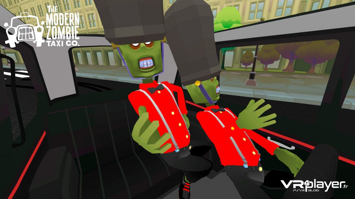 The Modern Zombie Taxi Co PlayStation VR VR4PLAYER