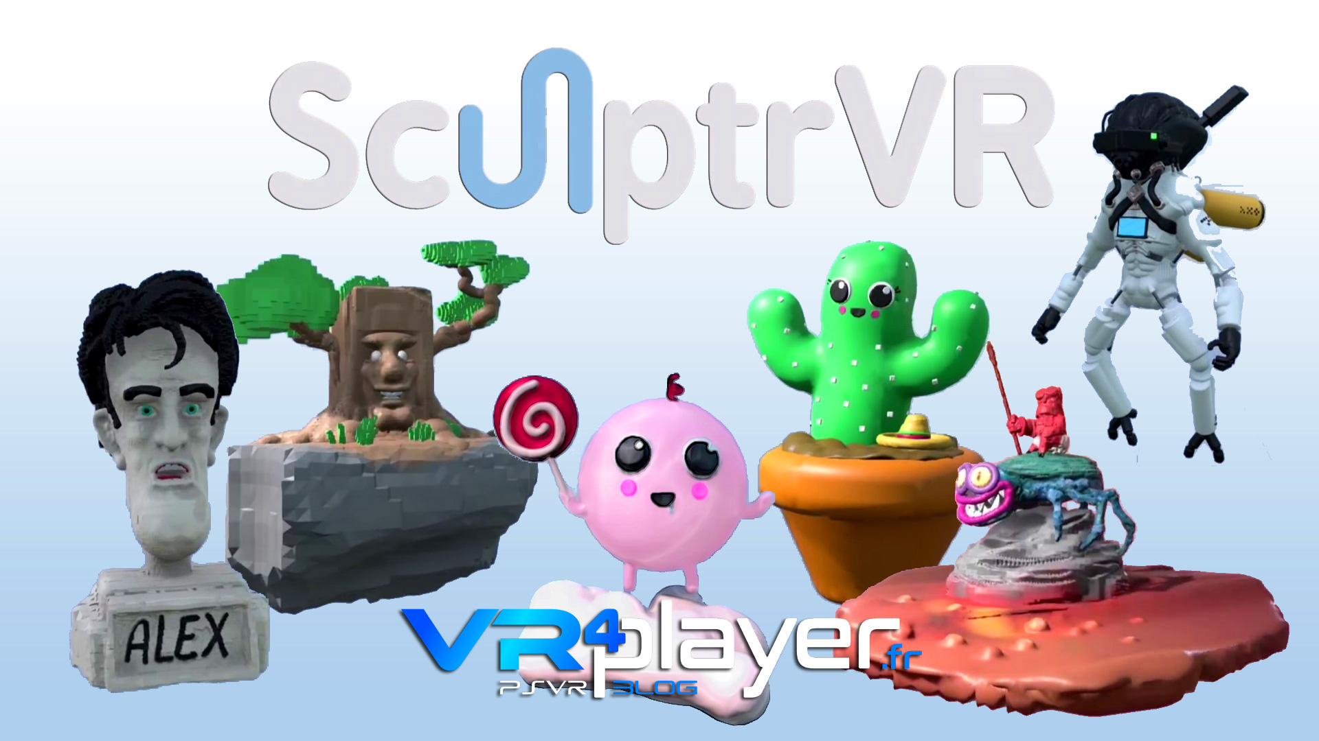 SculptrVR PlayStation VR vr4player.fr