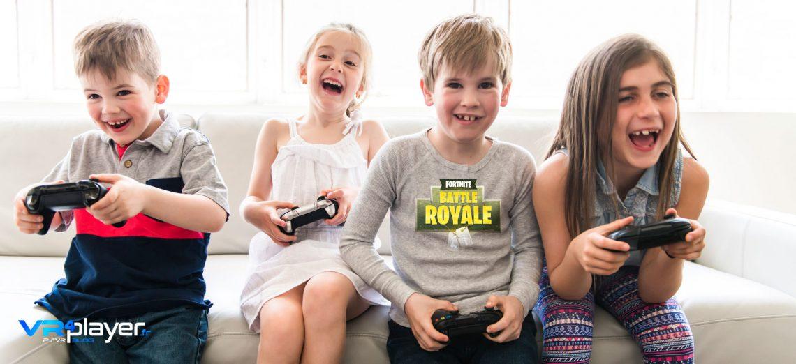 Enfants Fortnite VR4Player