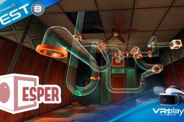 PlayStation VR : Esper VR, un puzzle game pas trop cher sur PSVR Test