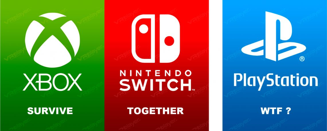 Xbox, Switch, Survive together Sony Cross-Play VR4Player