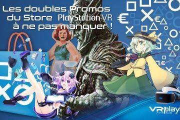PlayStation VR : les doubles réductions du Store PSVR