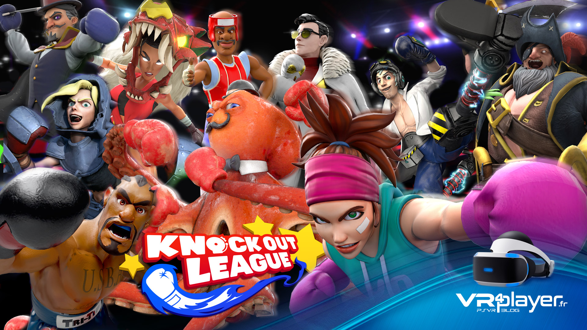Knockout League DLC Heay Bag sur PVR vr4player.fr