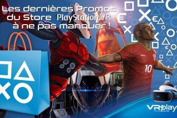 PlayStation VR : encore des soldes d'été sur le Store PSVR