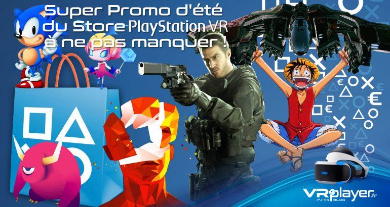 Super Promo d'été PSVR vr4player.fr