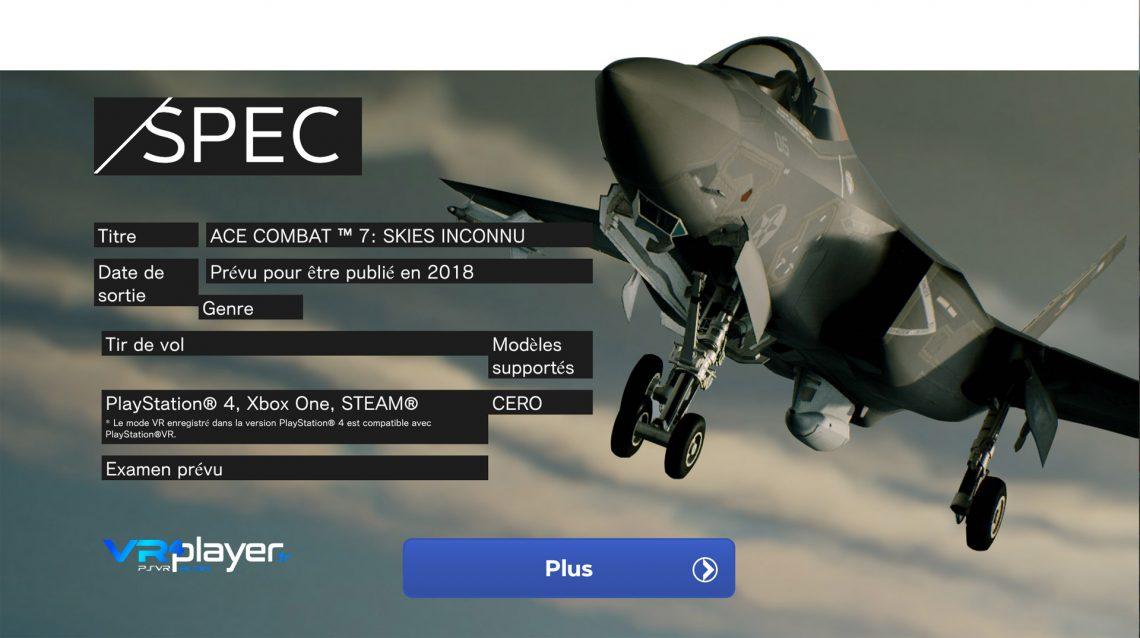 Ace Combat 7, repoussé ?