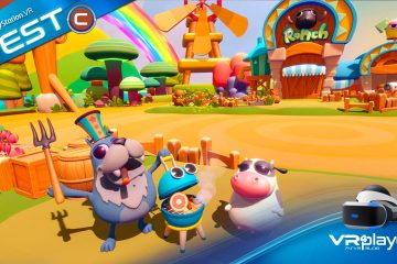 PlayStation VR :  Ranch Planet, la VR avait elle besoin de ça ?