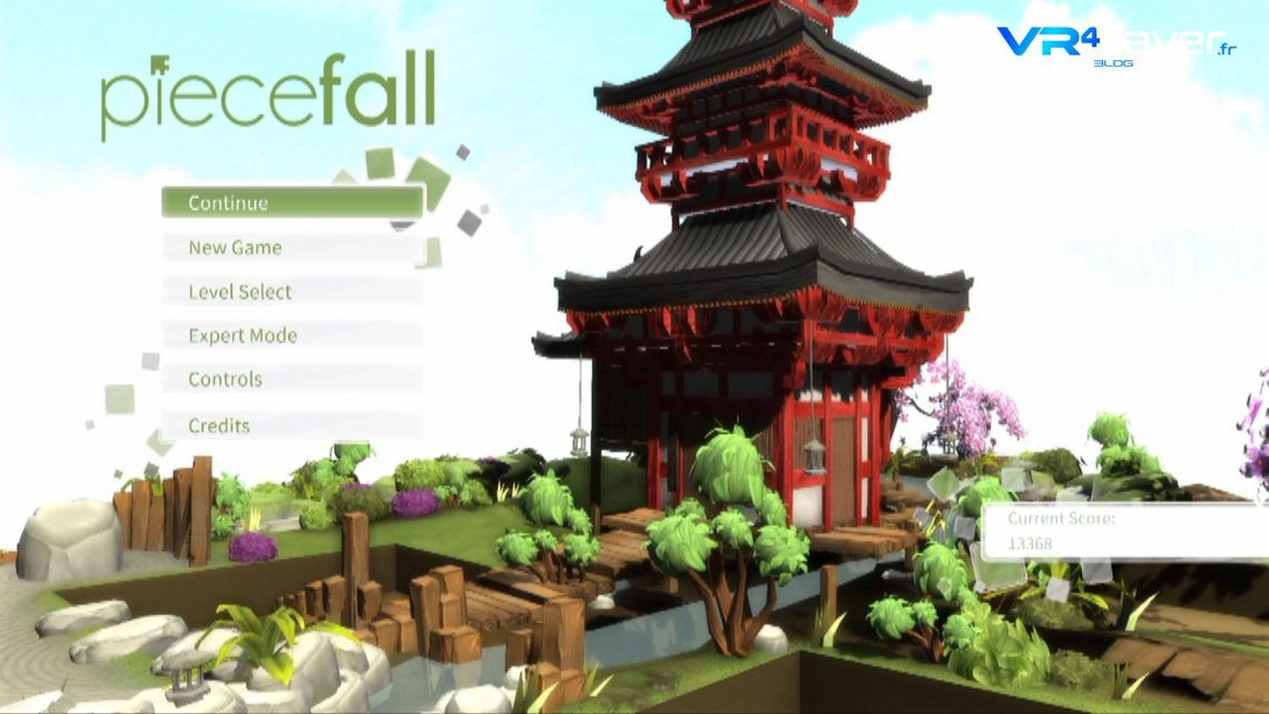 Piecefall VR le rival de Tetris Effect