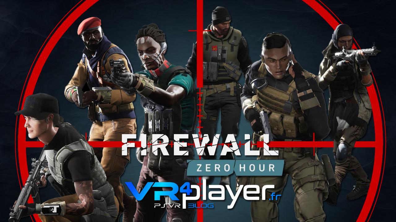 Firewall Zero Hour mis à jour sur PSVR vr4player.fr