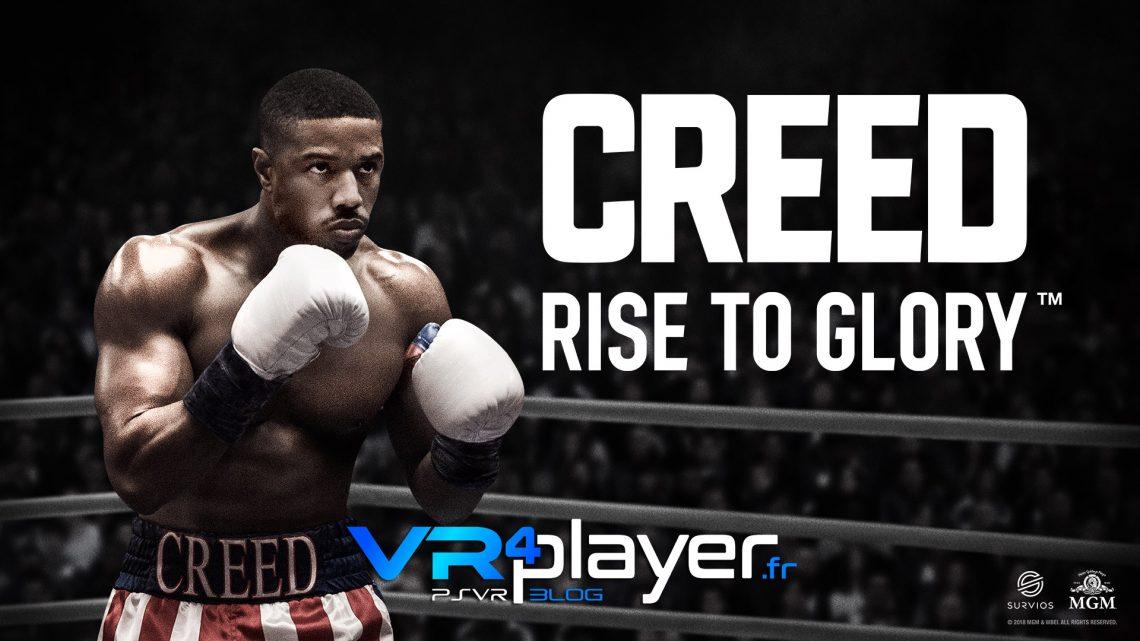 CREED Rise to Glory daté sur PSVR vr4player.fr