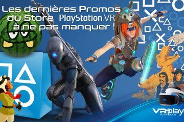 PlayStation VR : les promos du mois d'août continuent sur PSVR