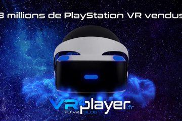 PlayStation VR : Les nouveaux chiffres de vente du PSVR dévoilés