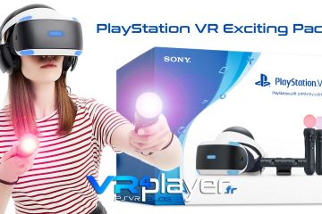 Sony lance le nouveau PlayStation VR Exciting Pack au Japon