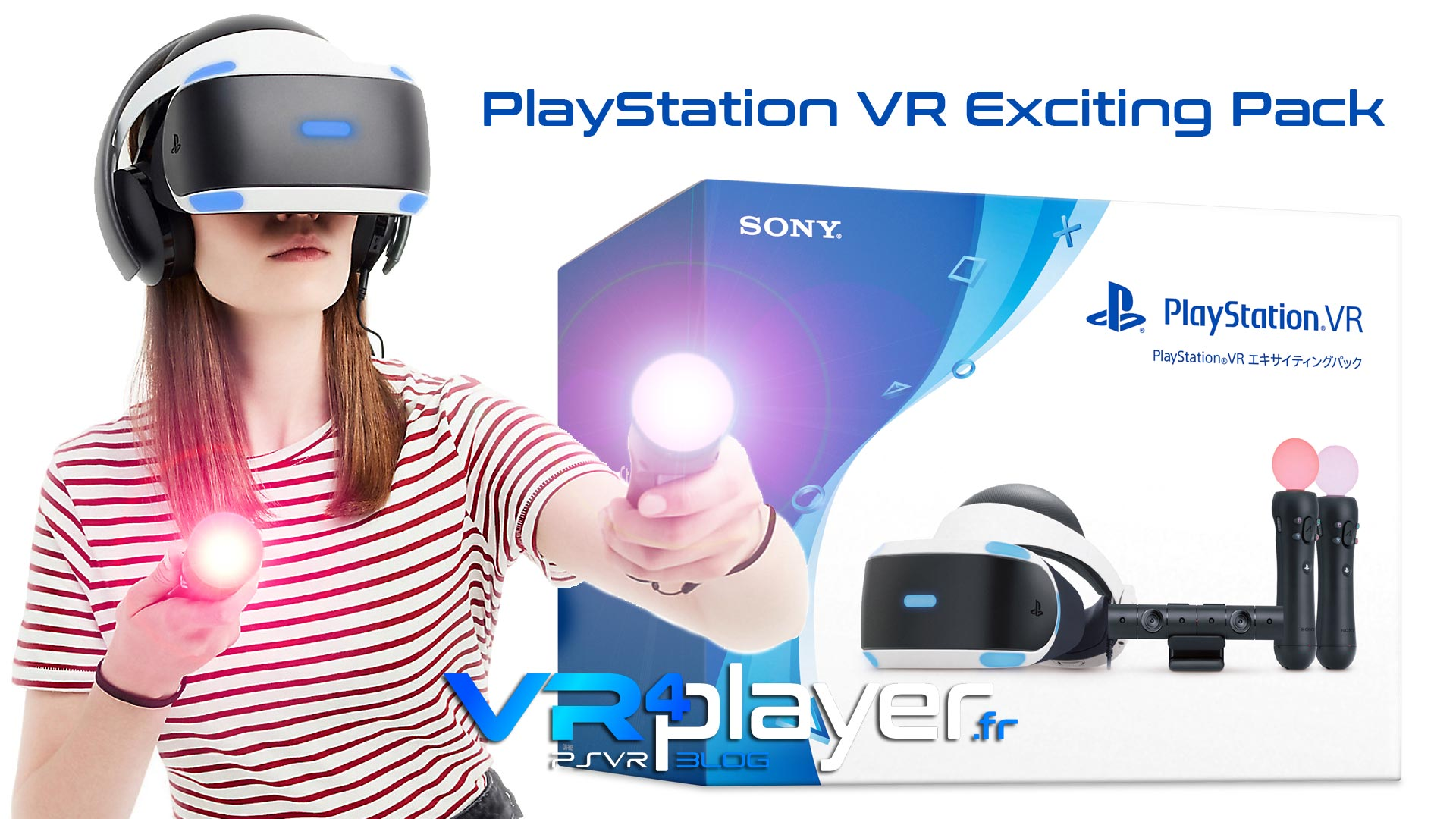 PlayStation VR Exciting Pack vr4player.fr