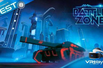 PlayStation VR, PS4 : Battlezone Gold Edition, Tron 3.0 en TEST sur PSVR