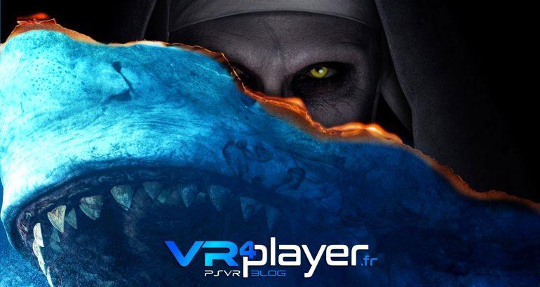 The Nun et en Eaux Troubles à voir sur PSVR vr4player.fr