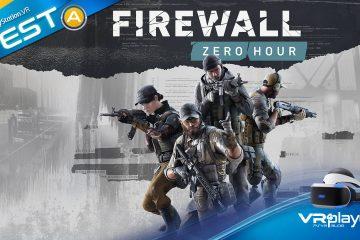 PlayStation VR : Test de Firewall Zero Hour, enfin la killer app du PSVR ?