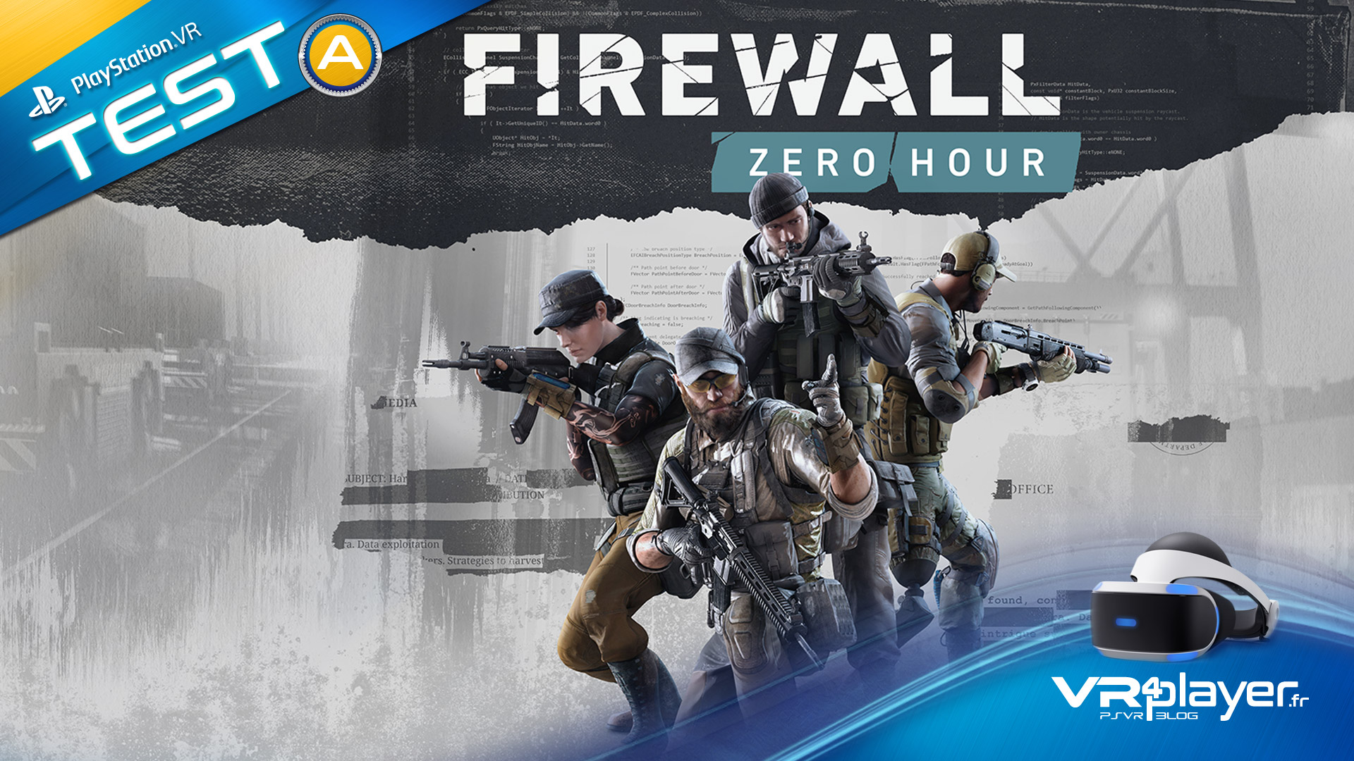 Firewall Zero Hour le test vr4player.fr