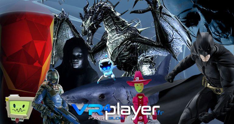 le top 10 des jeux PSVR les plus joués - vr4player.fr