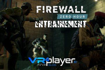PlayStation VR : Firewall Zero Hour en phase d'entraînement sur PSVR