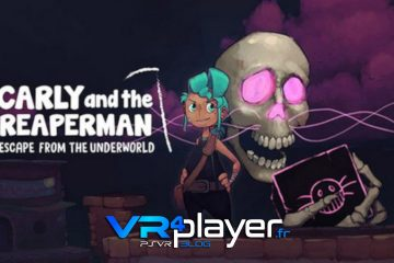 PlayStation VR : Carly and the Reaperman teasé sur PSVR