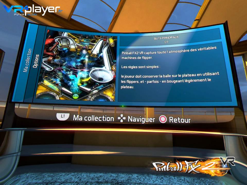 Pinball FX2 VR PSVR vr4player.fr