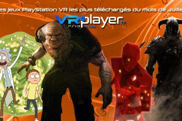 PlayStation VR : le top des ventes PSVR du mois de juillet