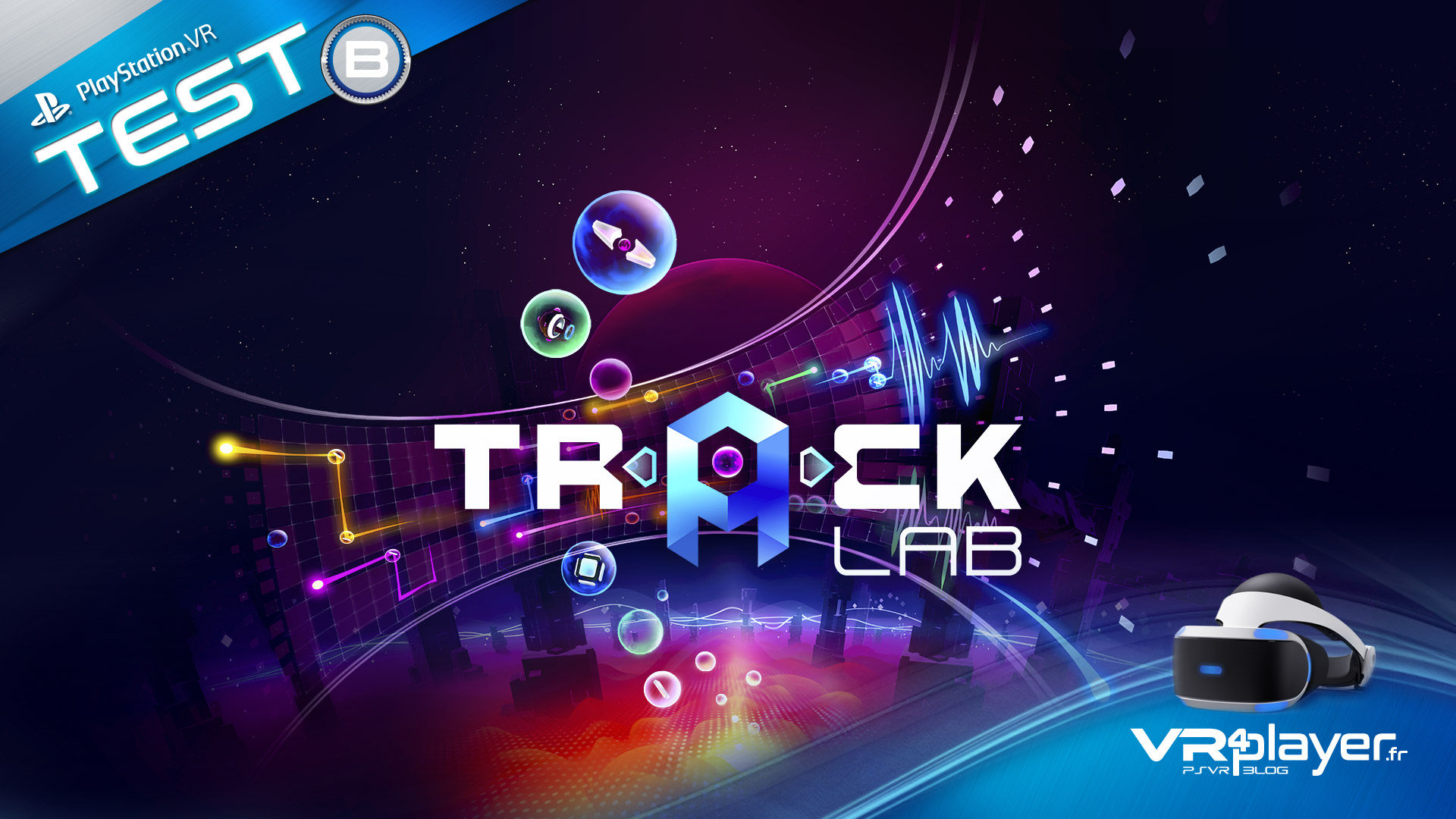 Test de Track Lab sur PlayStation VR vr4player.fr