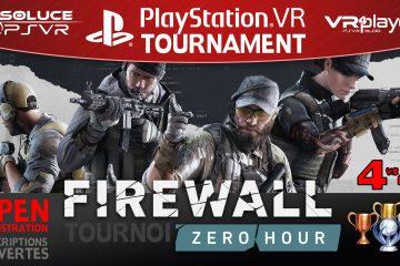 PlayStation VR : Gros tournoi Firewall Zero Hour organisé Par Soluce PSVR !