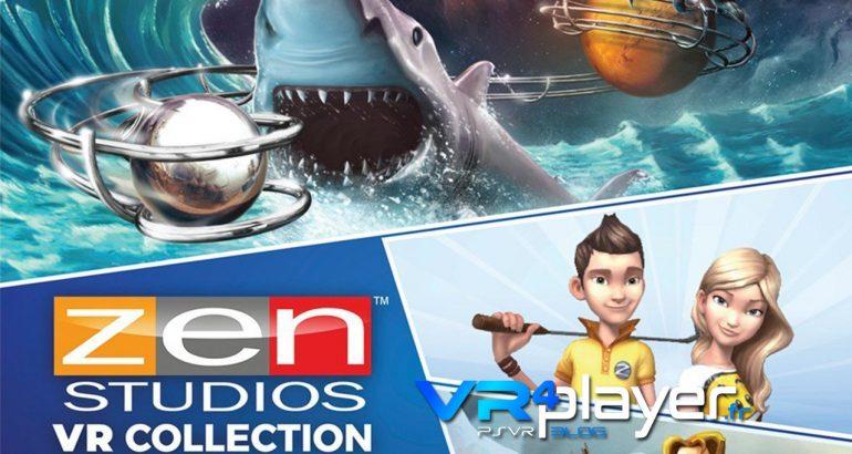 Zen Studios VR Collection se date sur PSVR vr4player.fr