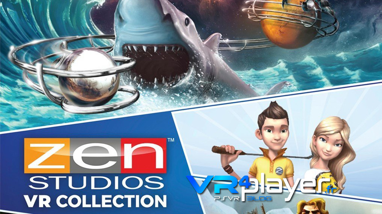 Zen Studios VR Collection se date sur PSVR vr4player.fr