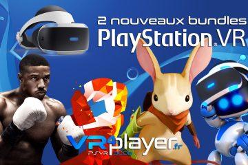 PlayStation VR : Sony va commercialiser deux nouveaux bundles PSVR