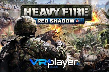 PS4, PlayStation VR : Heavy Fire Red Shadow a une date de sortie et un nouveau trailer !