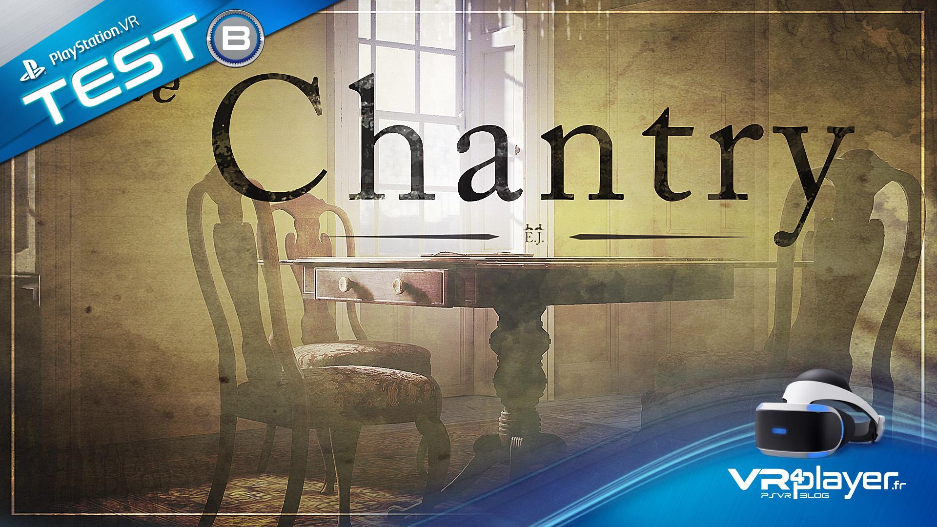 The Chantry sur PSVR testé par vr4player.fr