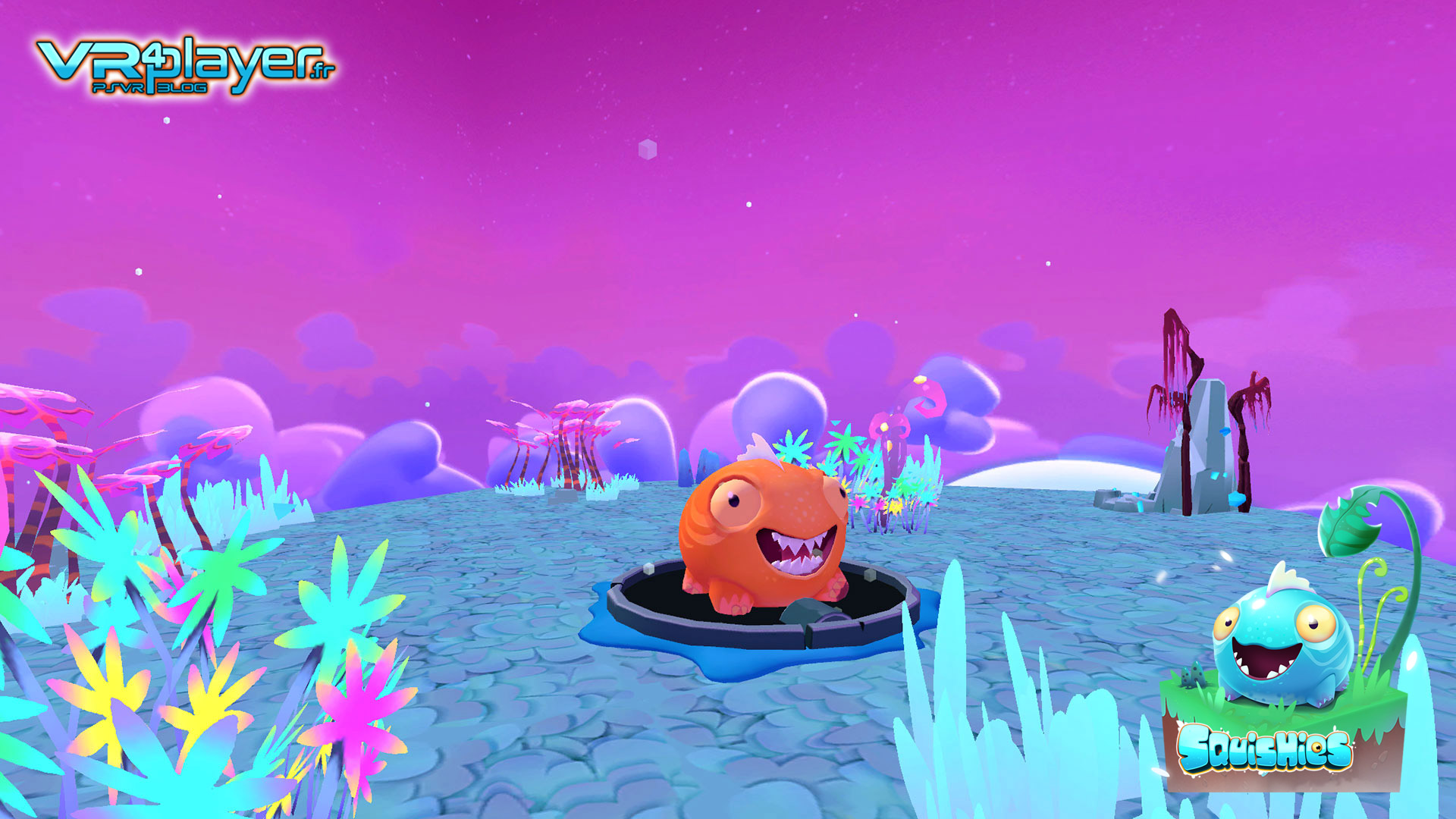 Squishies, une exclusivité PSVR PlayStation VR - VR4Player