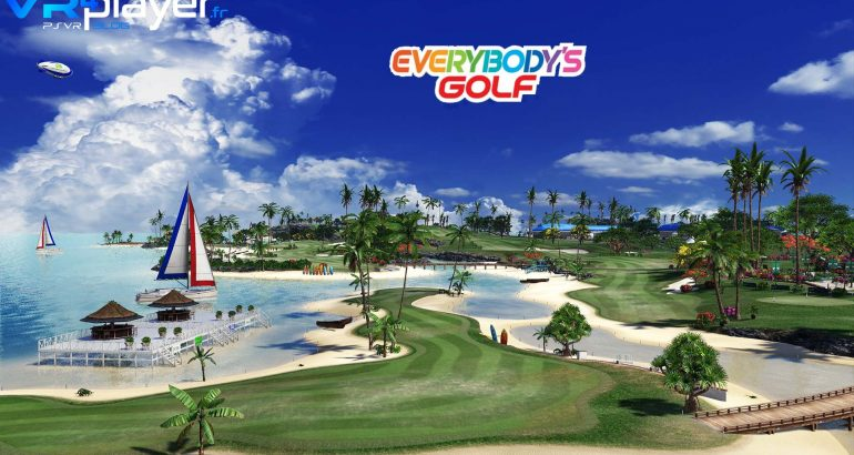 Everybody's Golf VR sur PlayStation VR vr4player.fr
