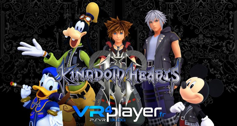 Kingdom Hearts VR prévu sur PSVR vr4player.fr